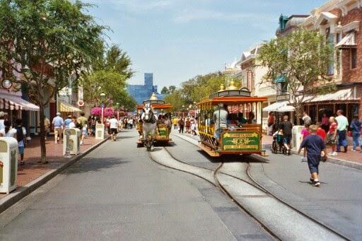Main Street na Disney Califórnia