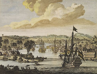 Dutch ships in the Bay of Bengal