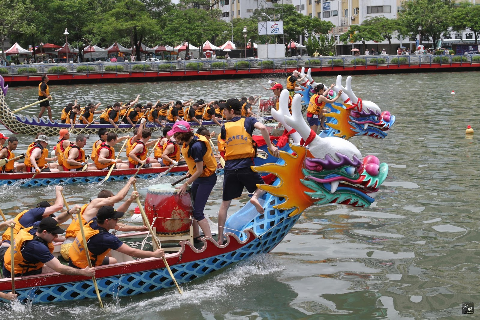 Qualita Co Ltd Festival In Taiwan Dragon Boat Festival