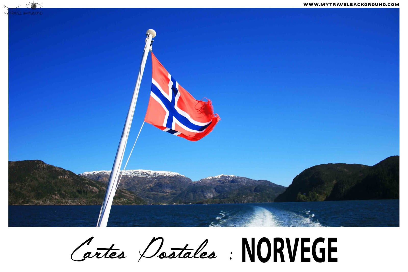 My Travel Background : Cartes Postales de Norvège