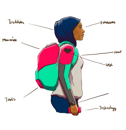 Illustrations for Hack the Hood http://bit.ly/HackTheHOOD #techequity #techinclusion #hackthehood #oakland...