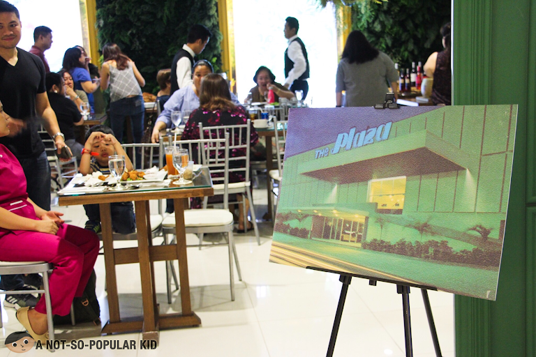 The Plaza Pop-up restaurant in Rustan's Makati