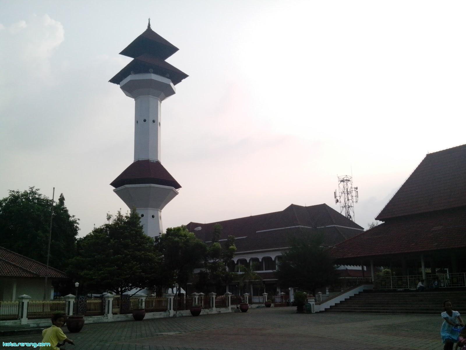 profil masjid agung as  u2013 tsaurah  serang  u2013 banten