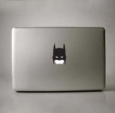 Batman Apple Decal