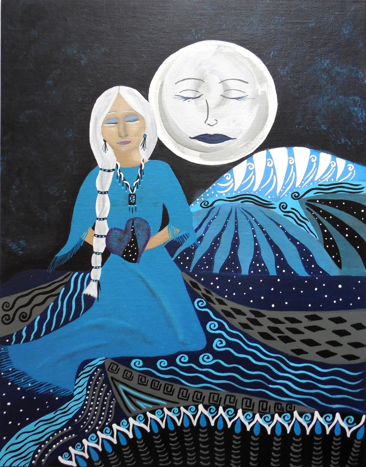 Periwinkle Wise Woman 38