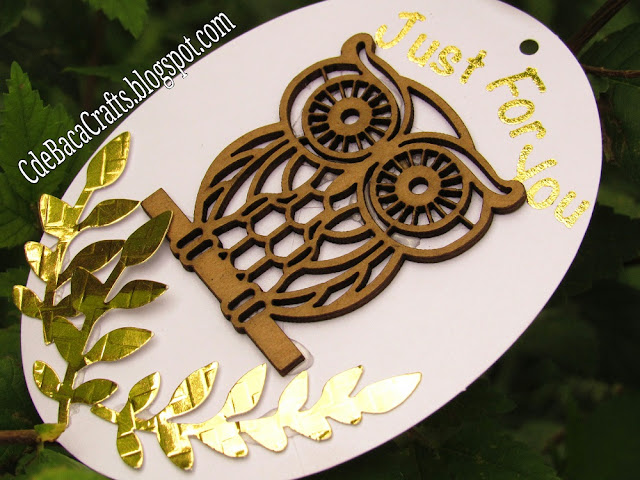 Handmade Gift Tags with Ideas and Inspiration by CdeBaca Crafts Blogspot.