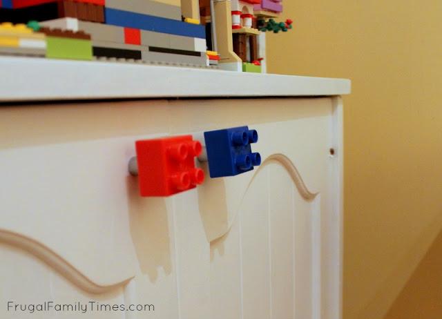 DIY Lego Cabinet Knobs