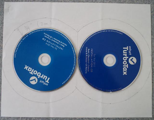Lucky 8 CD Coaster Mug Rug Tutorial by eSheep Designs