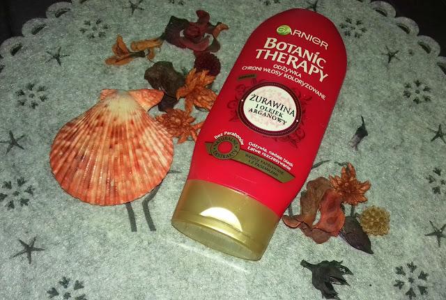 Garnier, Botanic Therapy, Odżywka z żurawiną i olejkiem arganowym