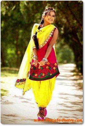 Girl Punjabi Suit Wallpaper Sohni Sunakhi Punjaban Main
