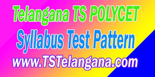 Telangana TS POLYCET 2017 TSPOLYCET Syllabus Test Pattern Download