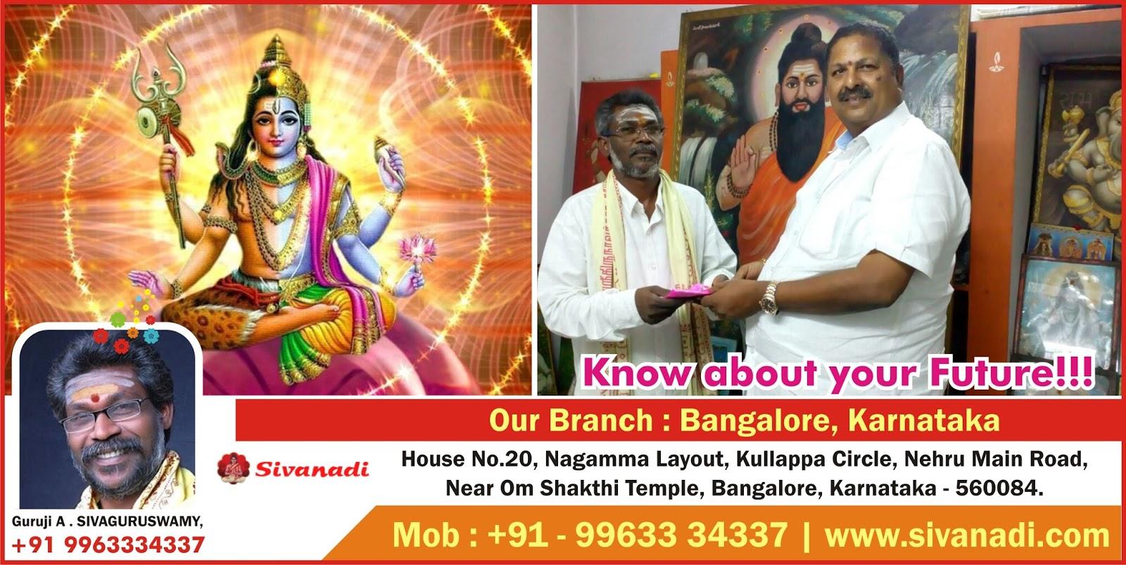 Nadi Astrologer Solutions in Bangalore