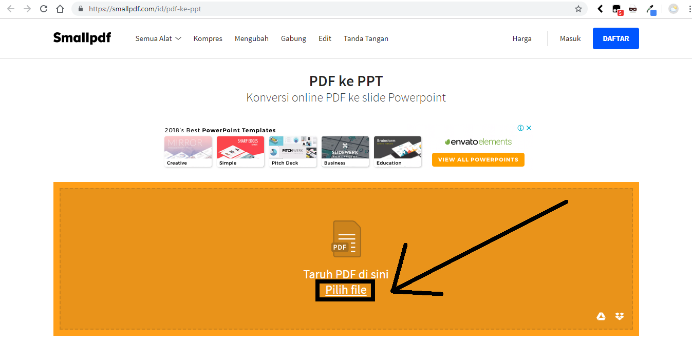 2 Cara Mengubah File PDF ke Power Point (PPT) Lewat PC