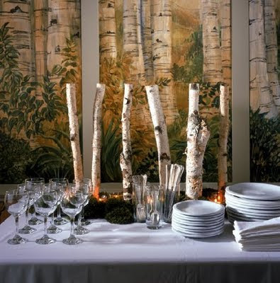 The Sweet Life Studio Decorating With Birch