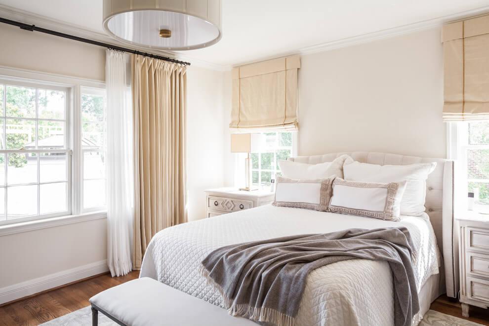 Muebles de dormitorio cabeceros tapizados para for Visillos para dormitorio matrimonio