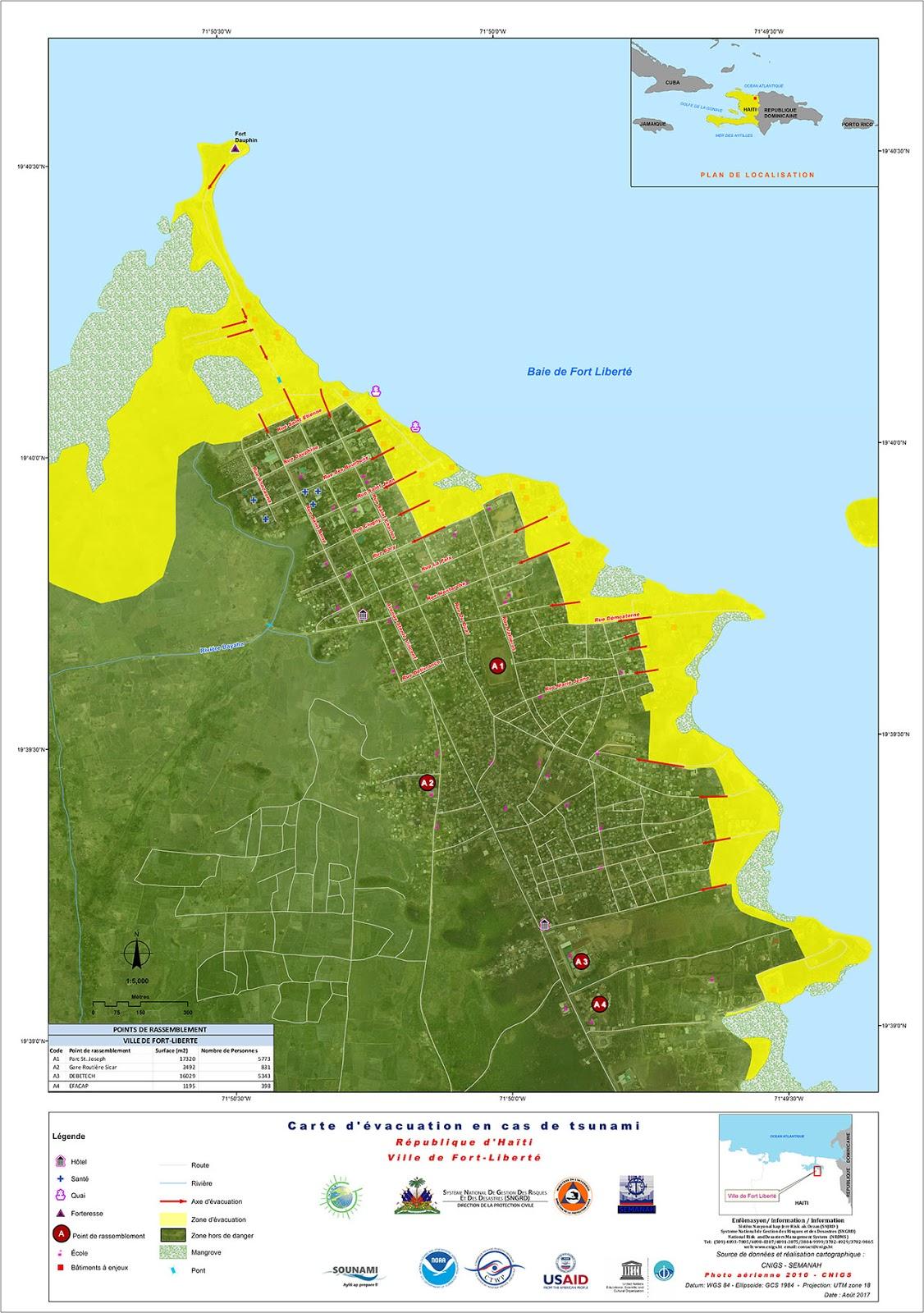 Hati La Commune De Fort Libert Bientt Reconnue Tsunami Ready