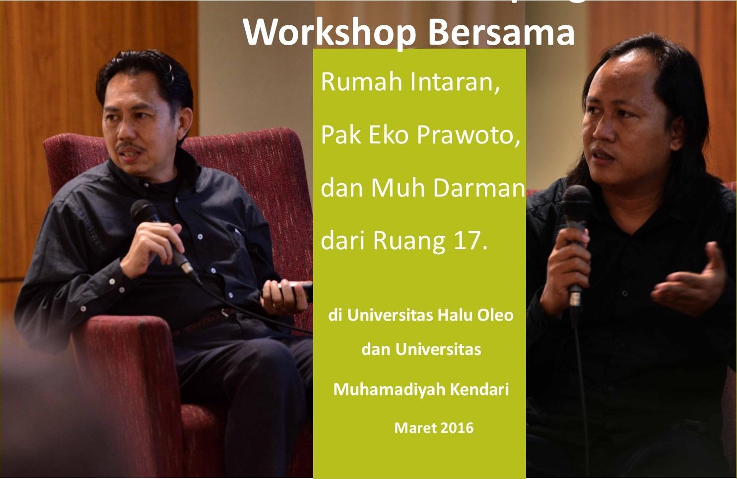 Workshop Bersama Rumah Intaran Bali Pak Eko Prawoto Seberapa