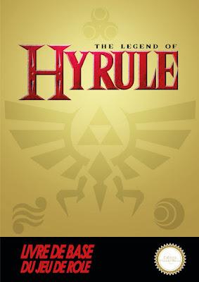 Couverture du jeu de rôle The Legend of Hyrule.