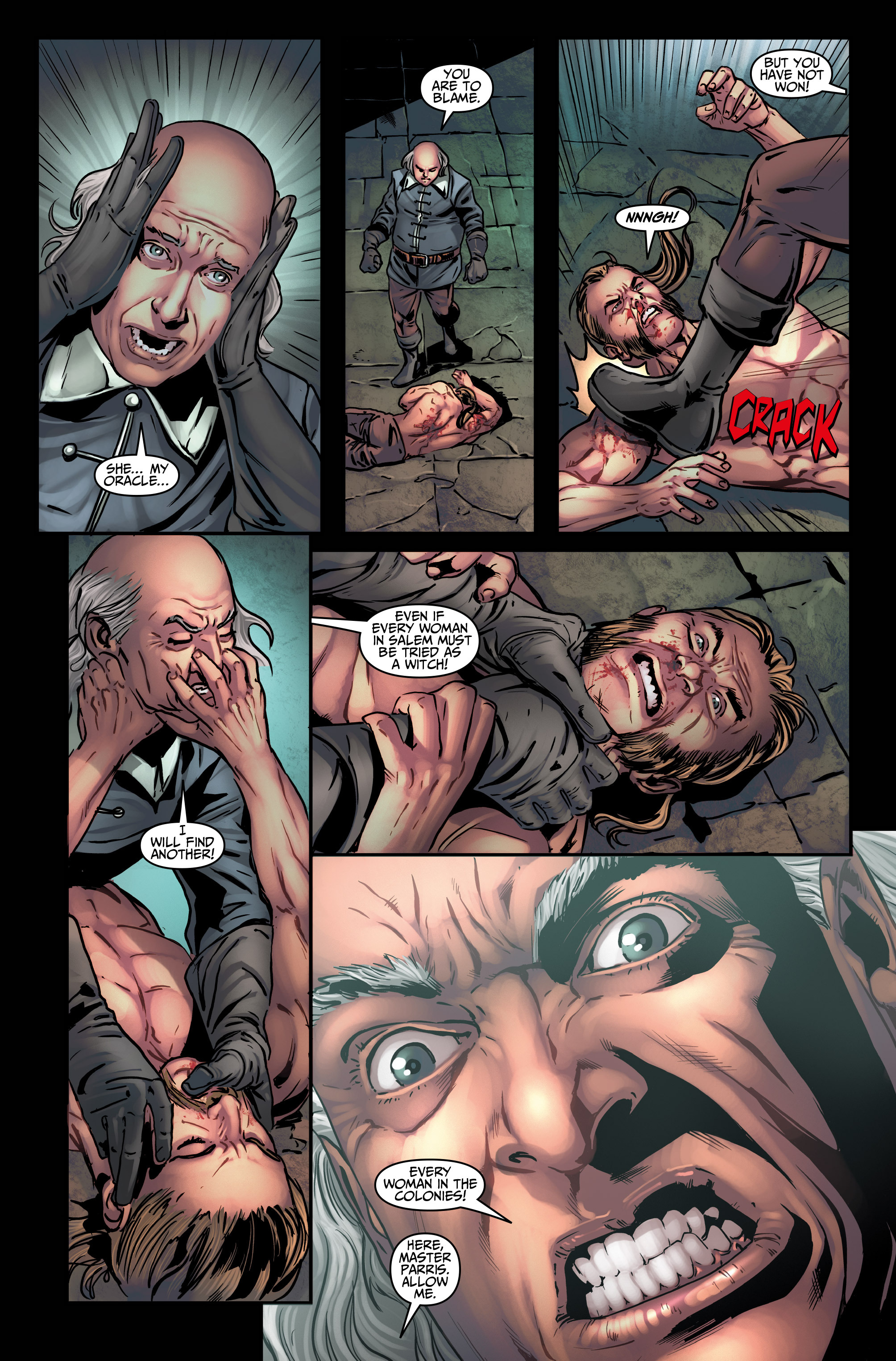 Read online Assassin's Creed (2015) comic -  Issue #4 - 19