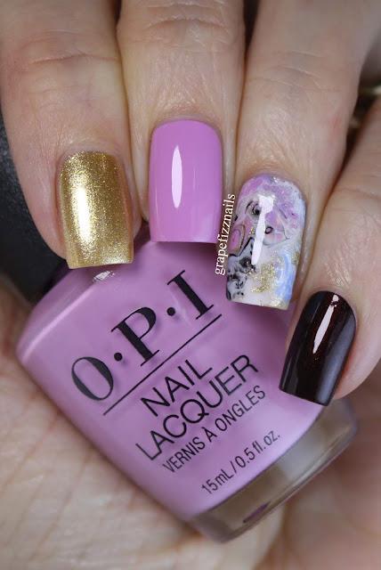 OPI Fluid Nail Art, Dance Legend Spot It