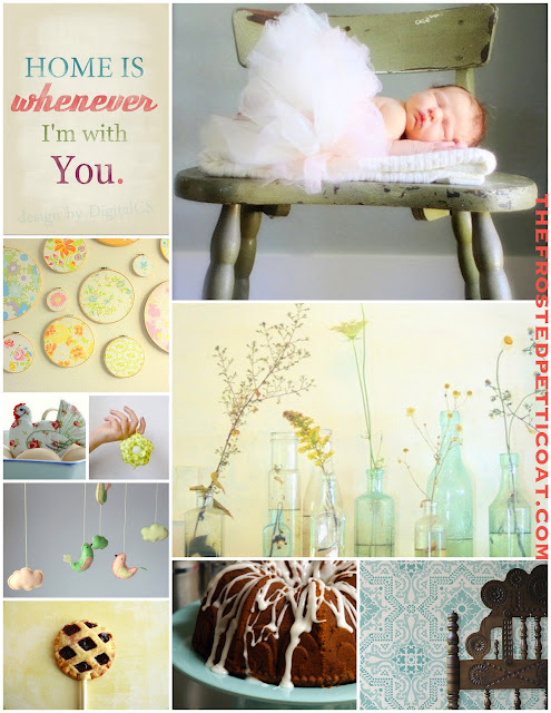 Farm+baby+shower+rustic+nature+shabby+chic+baby+shower+birthday+party+pie+cake+mobile - The Farmer's Baby
