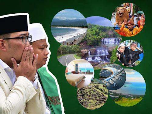 Program pariwisata Gubernur Ridwan Kamil