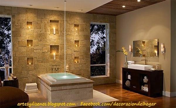 Ambientes con paredes de piedras - Piedras pared interior ...