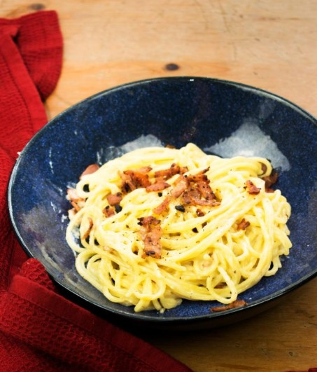 SYN FREE CREAMY CHEESE AND BACON PASTA