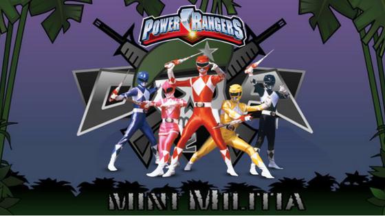 Mini Militia Power Ranger Mod v3.0.8