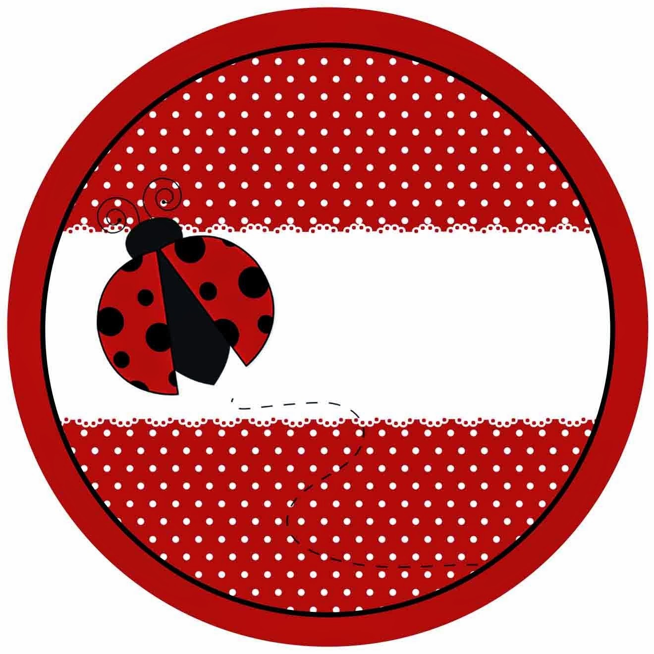 Ladybugs Free Printables For Parties