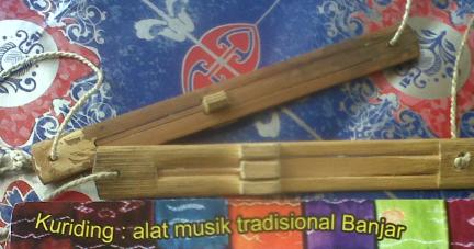 Alat musik tradisional: Pengertian alat musik tradisional Kuriding.