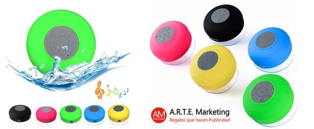 Regalo publicitario: Altavoces Bluetooth para poner logos