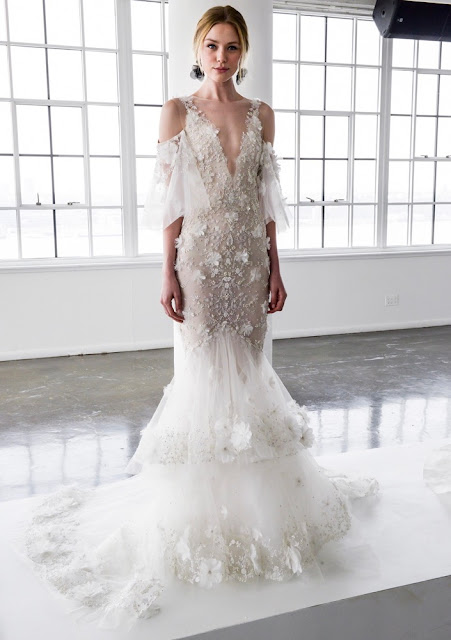 K'Mich Weddings - wedding dress - couture - Marchesa Bridal