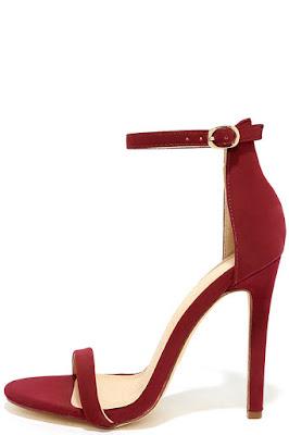 zapatos rojos elegantes