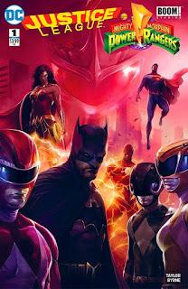 Justice League Vs Power Rangers