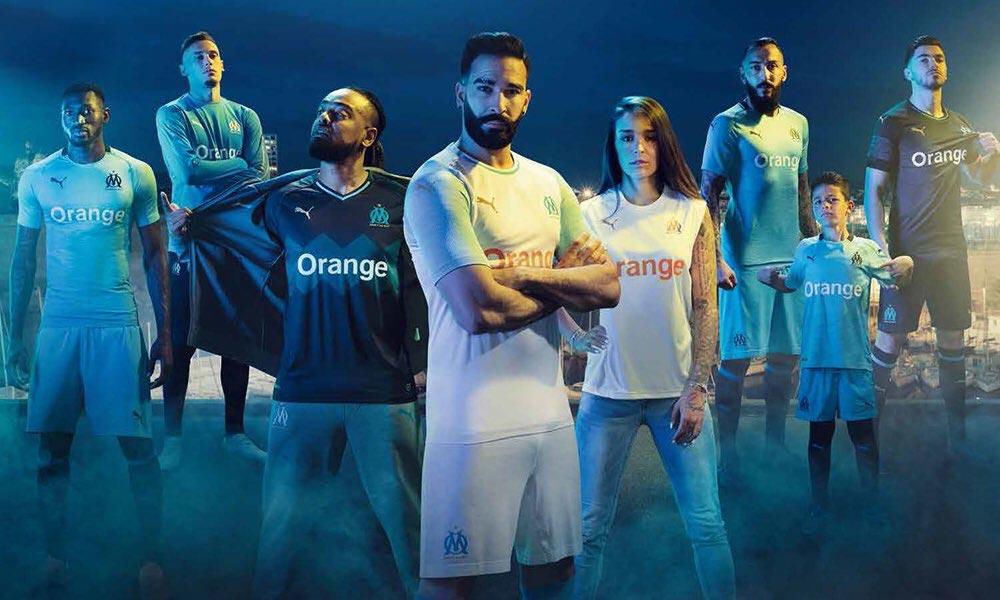 the best attitude f488c aea9d No More Adidas - Puma Olympique Marseille 18-19 Home, Away ...
