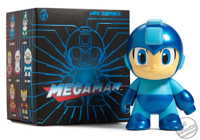 san diego comic-con 2016 kid robot exclusive Mega Man Metallic 3-inch Figure