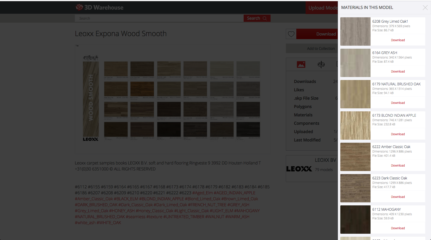 The Sketchup Blog: How to download and extract JPG textures from