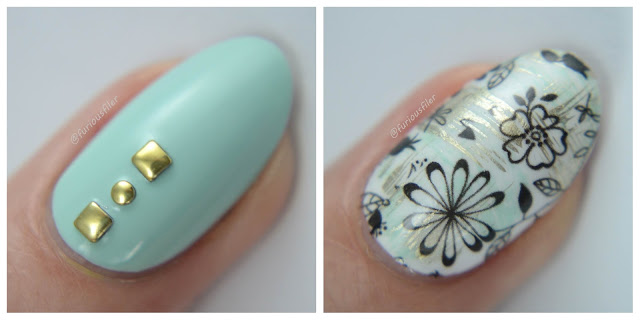 macro florals studs water decals review dry brush