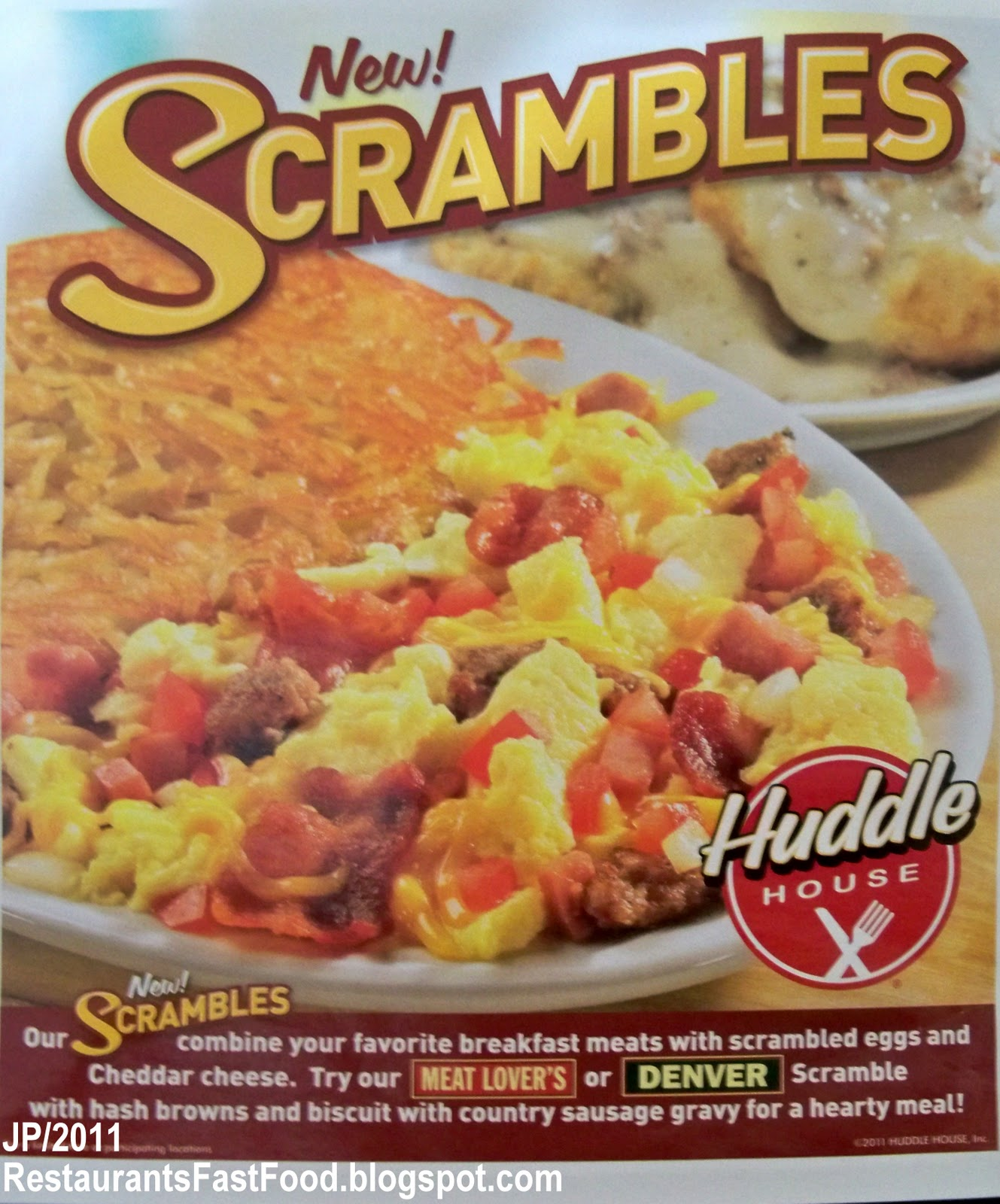 Is Huddle House Fast Food