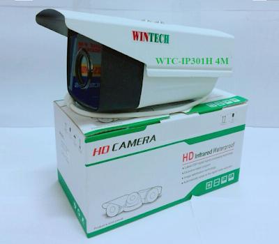 Camera IP WinTech WTC-IP301H 4M Độ phân giải 4.0 MP