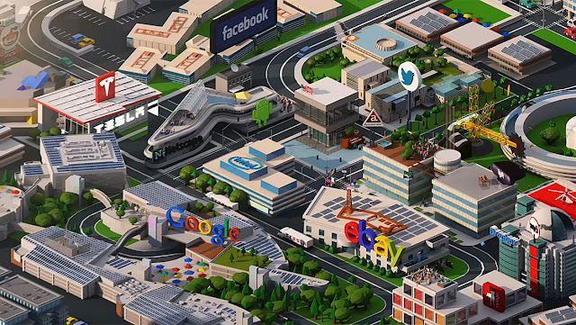 Ilustrasi Silicon Valley