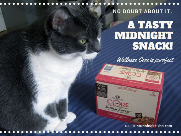 Win a Case of Wellness CORE Simply Shreds For Your Midnight Snack #ChewyInfluencer