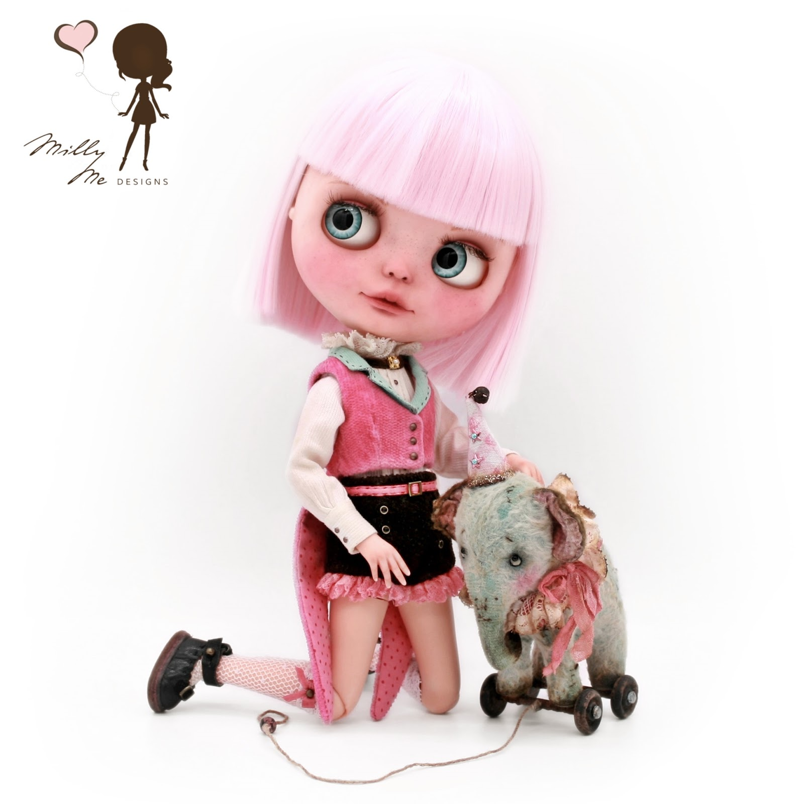 milly me designs, blythe, blythe doll, blythe dress, blythe outfit, blythe clothes