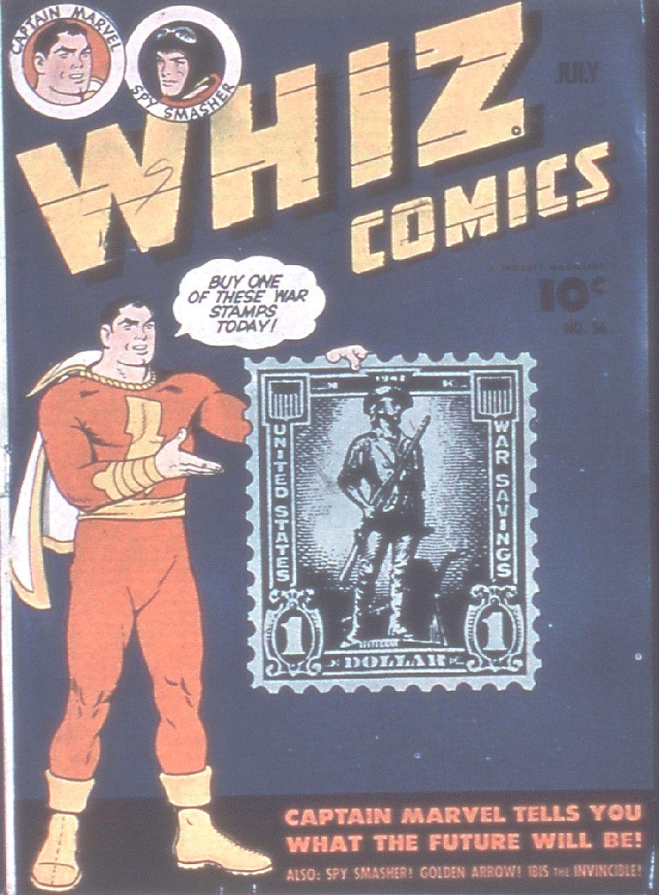 WHIZ Comics 56 Page 1