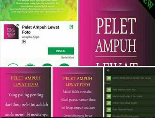 "Heboh Aplikasi ""Pelet Ampuh"" di Playstore, Netizen Peringatkan Perempuan Yang Suka Pajang Foto di Media Sosial"