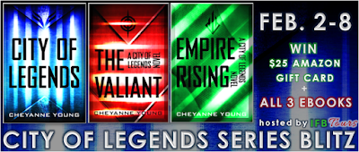 City of Legends: Series Blitz & Amazon Giveaway