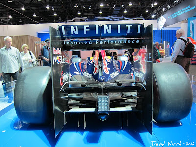 Red Bull F1 Formula 1 Race Car at the Detroit International Auto Show