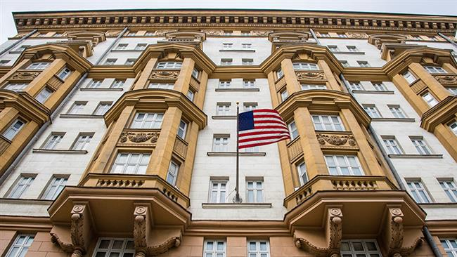 US embassy in Russia suspends issuing non-immigrant visas