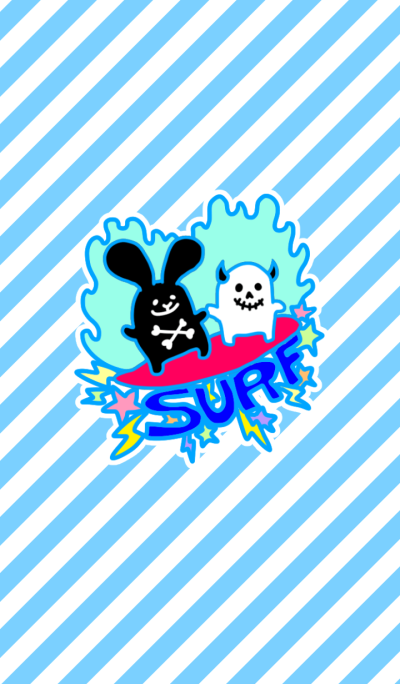 Rock rabbit and skull ~SURF~